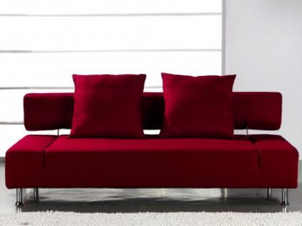 schlafsofa rot federkern g nstig kaufen bei yatego. Black Bedroom Furniture Sets. Home Design Ideas