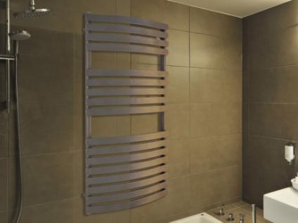 Badheizkörper Handtuchheizung Ligno 120x60cm - Grau