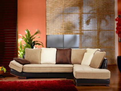 Samt sofa g nstig sicher kaufen bei yatego for Ecksofa samt