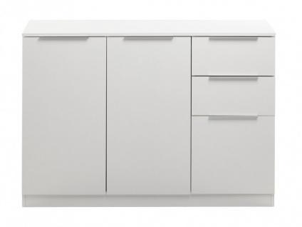 Sideboard Stuart - Weiß - Vorschau 4