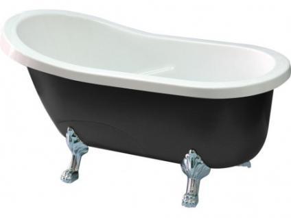 Freistehende Badewanne Egee II - 171 L - Schwarz