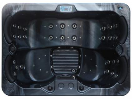 LED-Whirlpool Spa Themise II - 4 Plätze - Schwarz