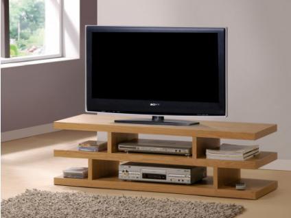 TV-Möbel Holz Brent - Eichefarben