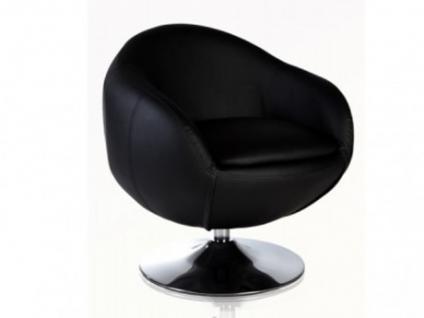Lounge-Sessel Whisper - Schwarz