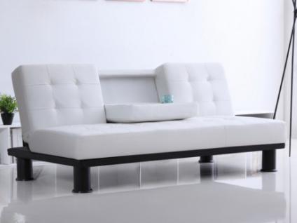 schlafsofa kunstleder schwarz g nstig online kaufen yatego. Black Bedroom Furniture Sets. Home Design Ideas