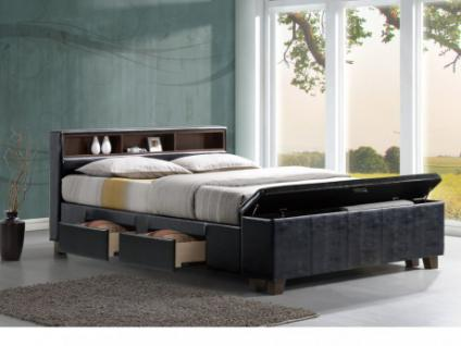 betten mit stauraum online bestellen bei yatego. Black Bedroom Furniture Sets. Home Design Ideas