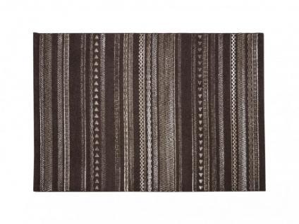 Teppich Polypropylen Vlad - 160x230cm - Braun