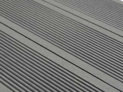 3 WPC-Terrassendielen Tera II (0, 96 m²) - Grau
