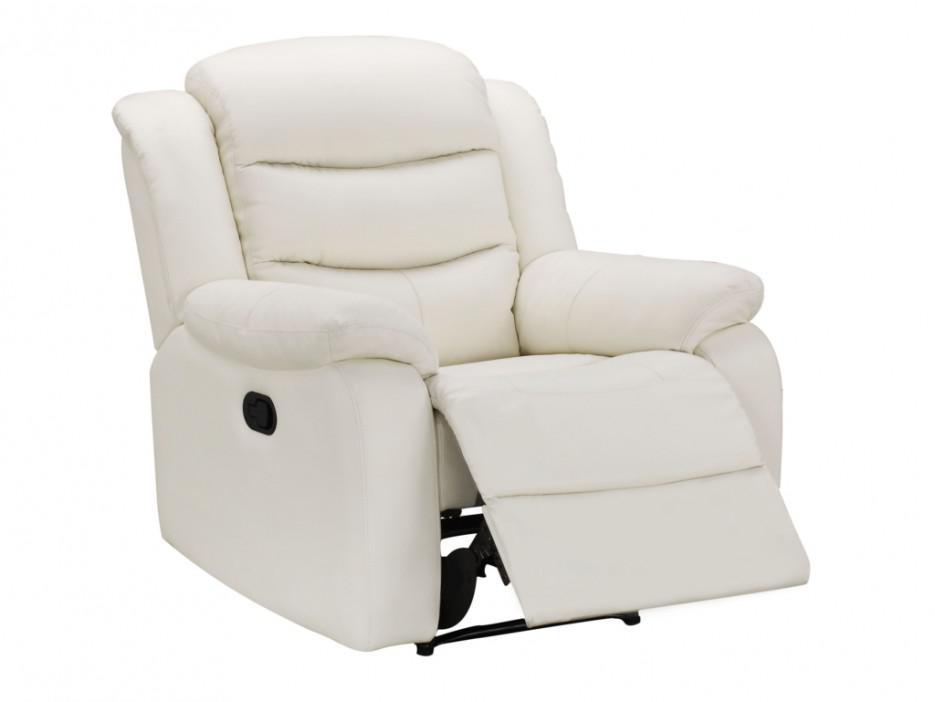 Relaxsessel Fernsehsessel Leder Pliton - Weiß - Kaufen bei Kauf ...