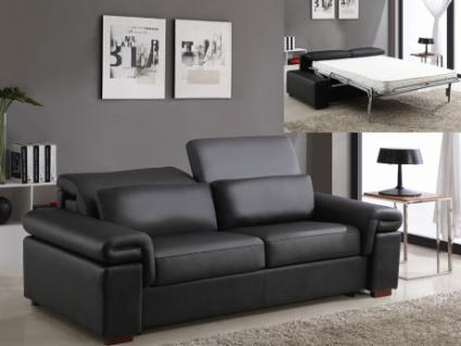 schlafsofa braun kunstleder g nstig online kaufen yatego. Black Bedroom Furniture Sets. Home Design Ideas