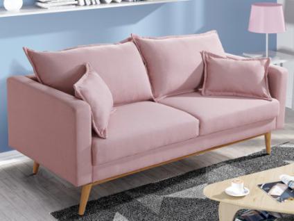 3-Sitzer Sofa Stoff Acadia - Limited Edition - Rosa
