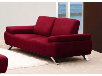 ledersofa rot. Black Bedroom Furniture Sets. Home Design Ideas