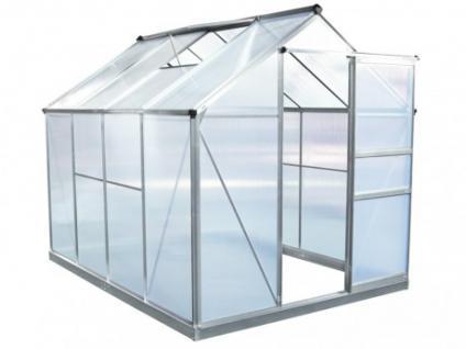 Garten Gewächshaus Aluminium Corymbe II - 4, 78m²