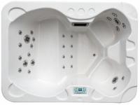 LED-Whirlpool Spa Nemesis IV - 4 Plätze - Weiß