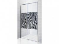 Duschtrennwand Seitenwand Schiebetür ADONIA - 120x190cm