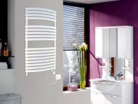 Badheizkörper Handtuchheizung Ligno 120x60cm - Weiß