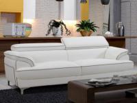3-Sitzer Sofa Voltaire - Weiß