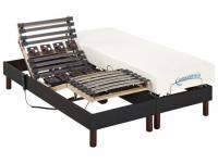 Relax-Kombination Latten und Tellermodule Viskoschaum JASON von DREAMEA - 2x70x190cm