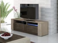 TV-Möbel Sumai - 2 Nischen & 2 Schuladen