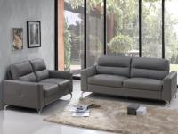 Couchgarnitur Leder 3+2 Edori