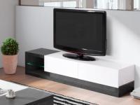 TV-Möbel Hochglanz LED Ewen