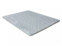 Visco-Matratzenauflage Topper Bambus - 80x200cm