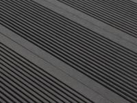 3 WPC-Terrassendielen Tera II (0, 96 m²) - Schwarz