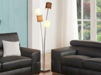 Stehlampe Stehleuchte Metall Varieta - Höhe: 160 cm