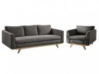 Couchgarnitur 3+1 Stoff ALEGAN