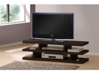 TV-Möbel Holz Brent - Wenge