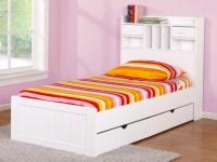 Kinderbett mit Bettkasten Mederick - ohne Matratze - 90x190cm