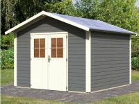 Gartenhaus Blockhaus Halkia - 304x304cm (9, 2m²)