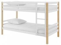 Kinderbett Hochbett Etagenbett Holz PHILEMON - 2x 90x190cm