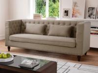 Sofa 3-Sitzer Stoff Iringa - Beige