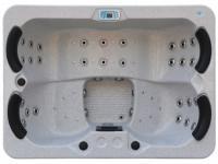 LED-Whirlpool Spa Themise II - 4 Plätze - Granit