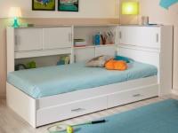 PARISOT Kinderbett Snoop mit Regal - ohne Matratze
