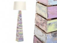Stehlampe Stehleuchte Holz Arboga - Höhe: 168 cm