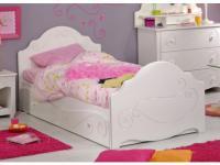 PARISOT Kinderbett Funktionsbett Alice mit Schublade - 90x200cm - ohne Matratze