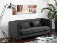 Sofa 3-Sitzer Stoff Iringa - Grau
