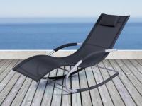 Gartenschaukel Sonnenliege Aluminium Textilene LOMBOK
