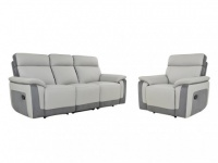 Couchgarnitur Microfaser Relax 3+1 ANAFI