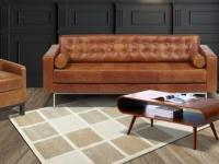 Teppich Wolle Handgetuftet Cubico - 160 x 230 cm