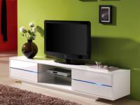 TV-Möbel Hochglanz LED Pegaze