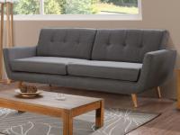 3-Sitzer Sofa Stoff Keiko