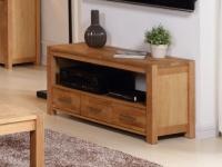 TV-Möbel Holz massiv Brocelande II - Eiche geölt