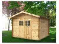 Gartenhaus Blockhaus Takea - 300x300cm (9m²)