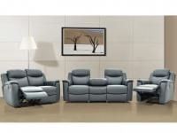 Ledergarnitur Relax Evasion 3+2+1 - Grau