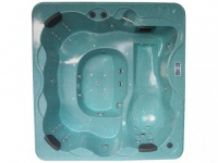 LED-Whirlpool Spa Tivoli III - 4-6 Plätze - Grün