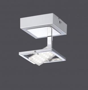 4W LED Deckenleuchte Paul Neuhaus 8064-17 Warmweiß 3000 Kelvin 400 Lumen Chrom - Vorschau 1