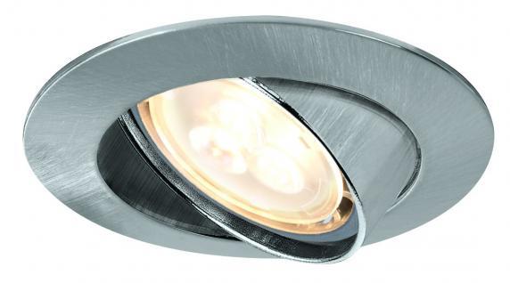 925.33 Paulmann Einbauleuchten Premium EBL Set schwenkbar LED 3x4W 3000K 230V GU10 51mm Eisen geb./Alu Zink